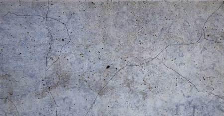 Cracks formed due to shrinkage of concrete.