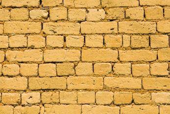 Brick work in mud