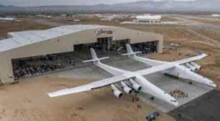 aircraft manufacturing building