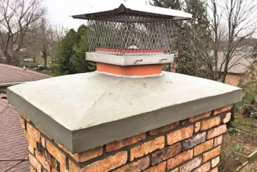 Cast-in-place Chimney Crown