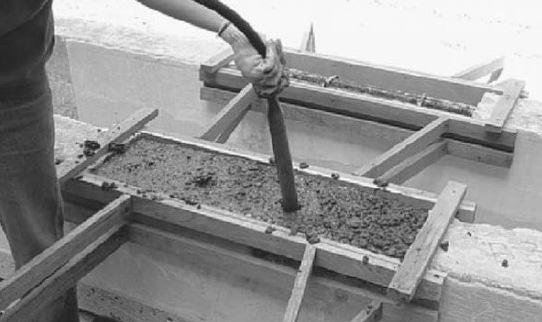 Internal Vibration for Concrete Compaction