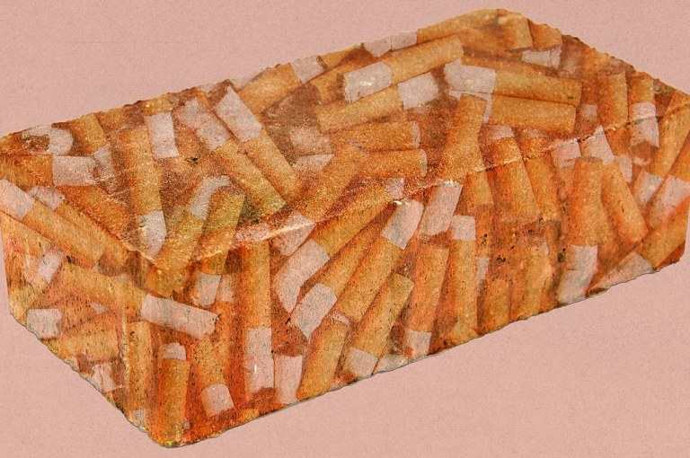 Cigarette Butt Bricks – Physical Properties and Advantages