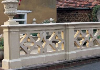 Perforated Parapet Wall