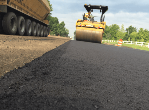 Compacting Surface Course