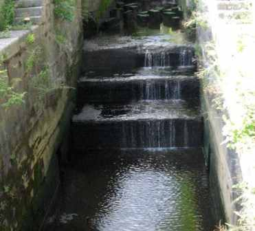 No Impact on Cistern due to low height canal fall