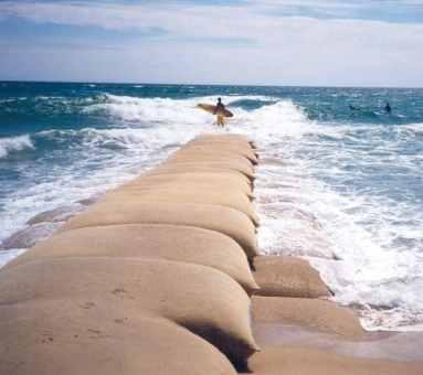 Sandbag Groyne