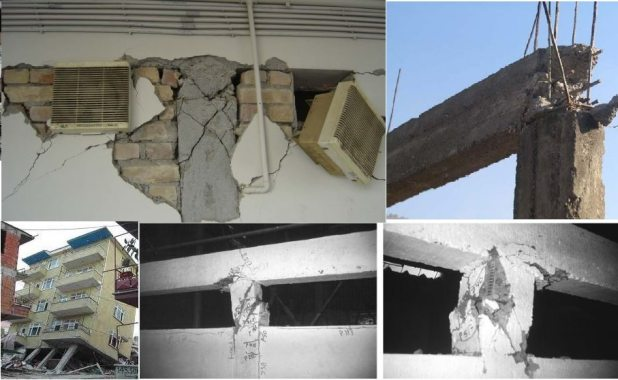 10 design and construction mistakes cause earthquake failure of buildings