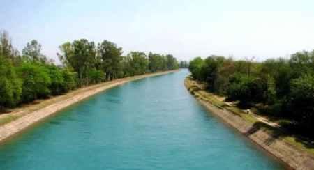 Sirhind Feeder Canal, India