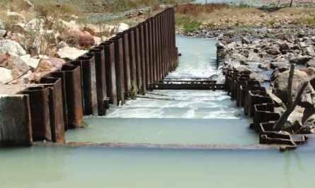 Pool and Orifice Fish Ladder, Tilpa Weir, Australia