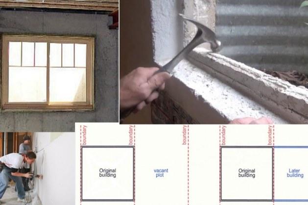 Installing Windows in Concrete Wall