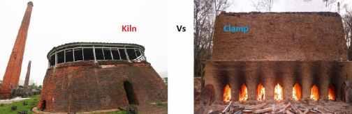 Kiln vs Clamp