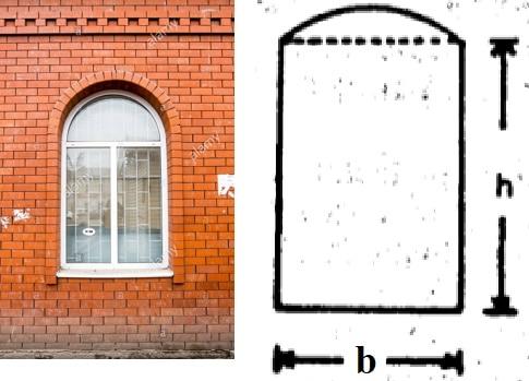 Window Opening with Segmental Arch