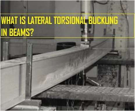 Lateral torsional buckling of beam with fork supports subjected to a concentrated load - test set-up (Adapted from Camotim et al. 2011, p. 2058).