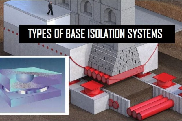 Different Types of Base Isolators Used in Buildings