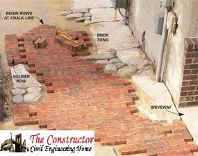 Laying of Bricks and Stone