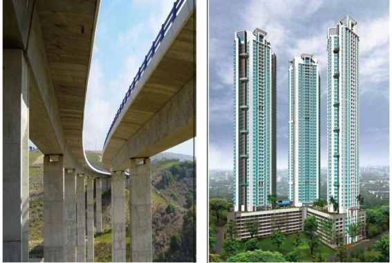 High Performance Concrete Applications in Civil Engineering