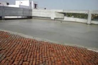 Laying of Brickbat Waterproofing
