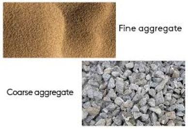 Fine and Coarse Aggregate.