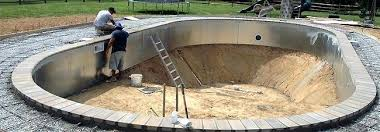 Coping Installation for Swimming Pools