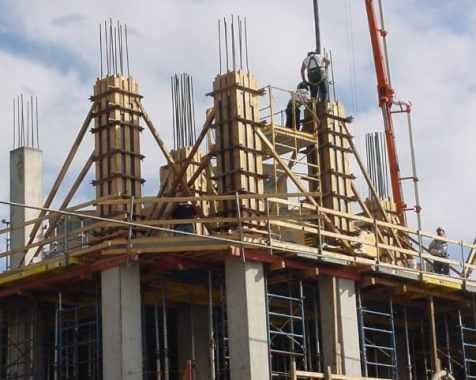 Concreting RC Columns