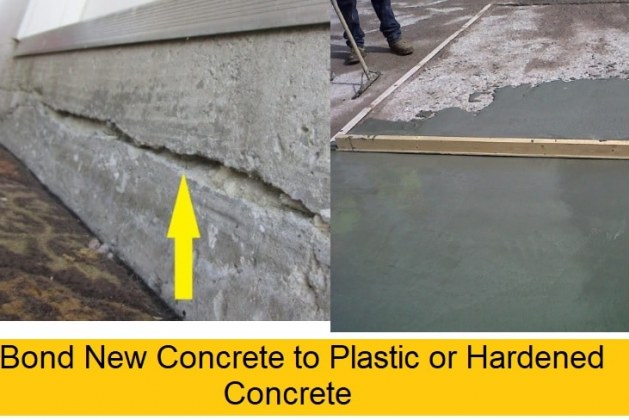 How to Bond New Concrete to Hardened/Plastic Concrete? [PDF]