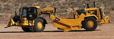 Scraper Machine used in Construction