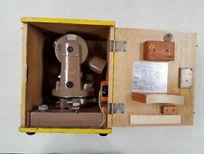 Transit Theodolite Safely Stored Inside Its case
