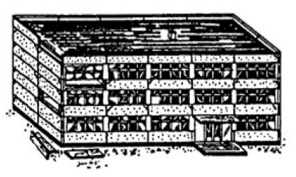 Moderate Damage Building