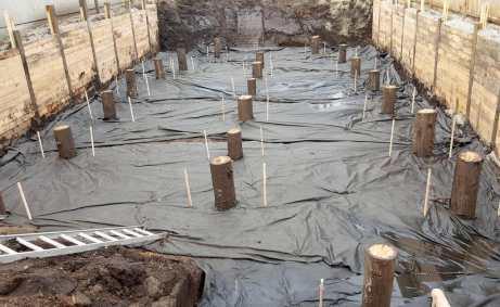 Timber Piles for Soil Stabilty
