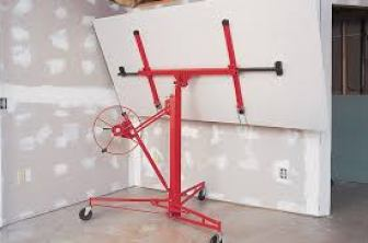 Drywall Lifting using Hoisting-Image Courtesy: Tools First