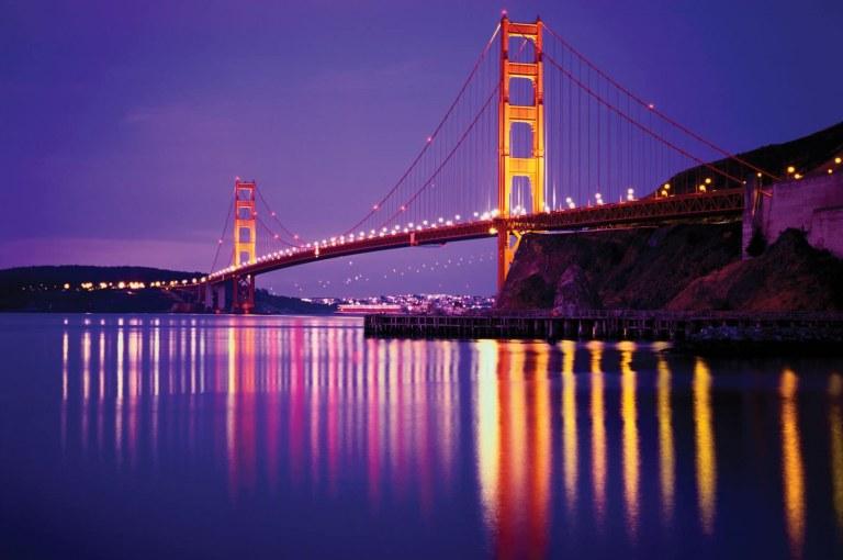 Golden Gate Bridge: Construction of One of the Longest Suspension Bridges in the World