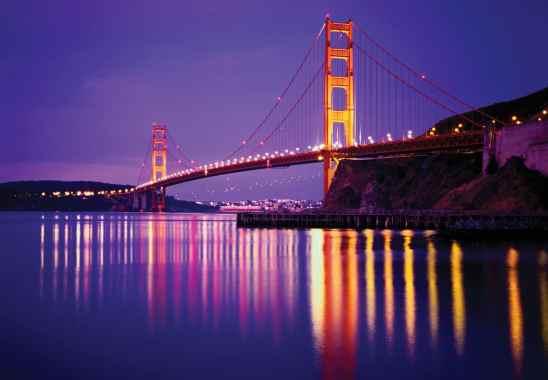 construction features of golden gate bridge