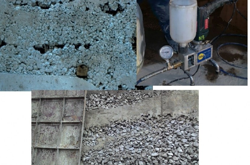 How to Repair Honeycomb in Concrete Structures?