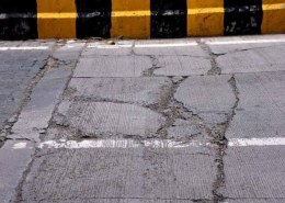 What are the factors responsible for the deform of RCC road?