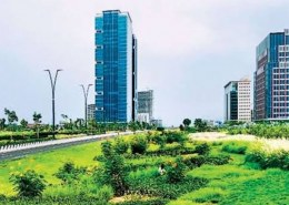 Is there any mapping of on going large construction projects in India?
