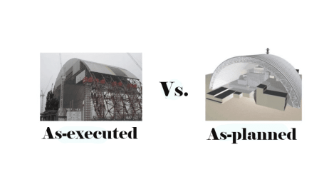 As-executed vs. As-planned