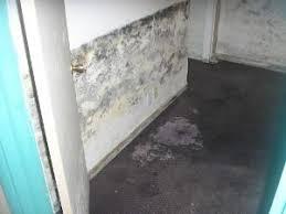 Spalling of Basement Walls