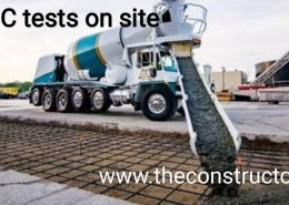 when to reject ready mixed concrete on-site according to its strengths?