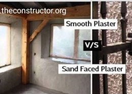 What is Sand Face Plaster and Where is it used?