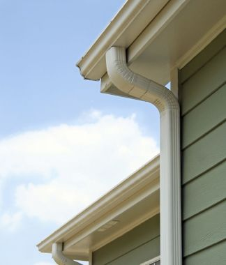 Installation of Gutters and Downspouts