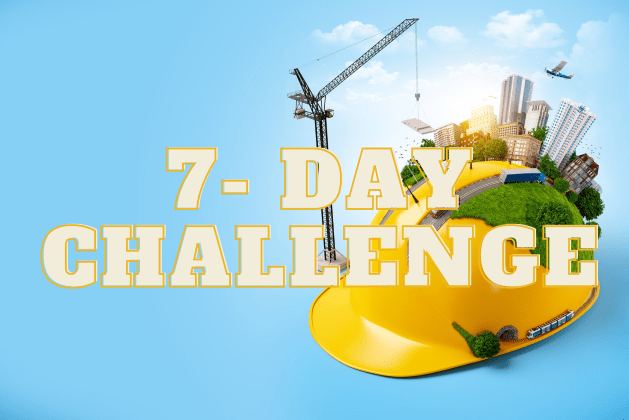 7-Day Challenge for Civil Engineers