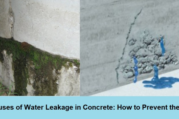 Understanding Water Leakage in Concrete Structures: Its Causes and Prevention