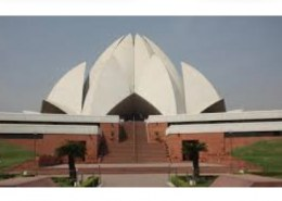 What is the speciality of lotus temple?