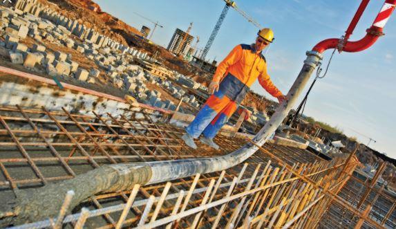 Skilled Labor concrete pumping