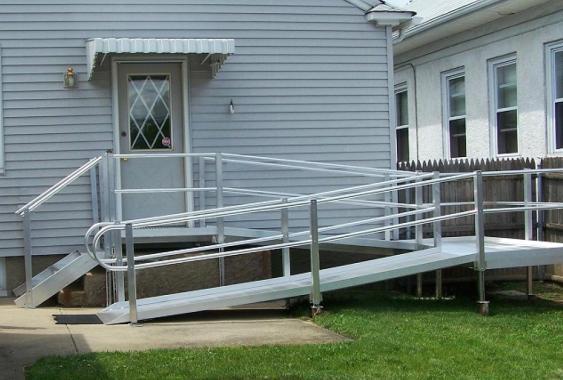 A Simple Outdoor Steel Ramp