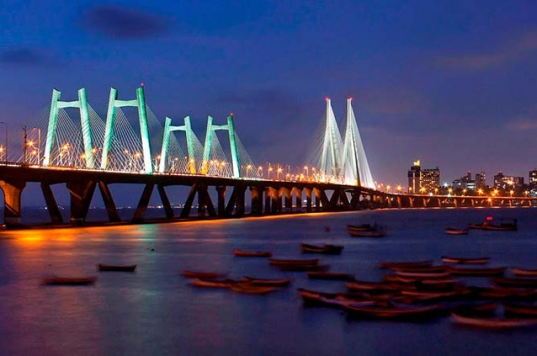 Bandra-Worli Bridge: India's Longest Cable-Stayed Bridge in the Open Sea
