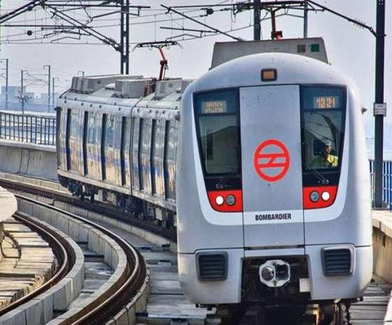 Delhi metro on track