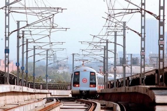 Delhi metro traction system