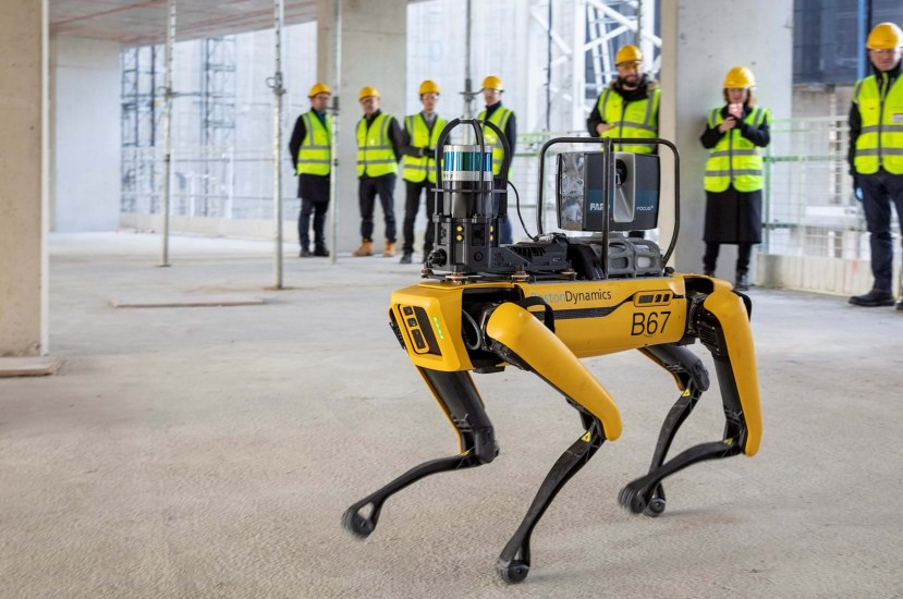 Boston Dynamics' Robot dog Supervises Construction Site in London | Video Inside