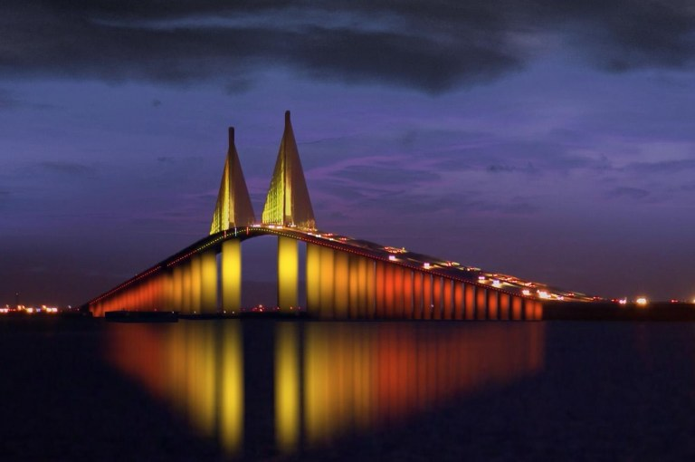 Sunshine Skyway Bridge: A Unique Cable-Stayed Bridge in Florida